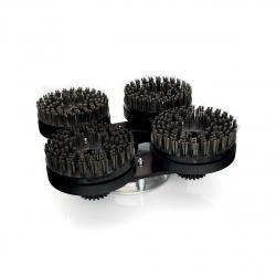 Set spazzole NEB in acciaio
